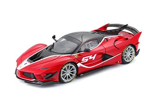 Bburago Ferrari FXX K Evo #54 Michael Luzich Signature Series 1/18 Diecast Model Car 16908