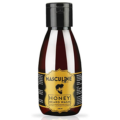 Masculine The Gentlemen Choice Honey Beard Wash For Men, 100 Ml