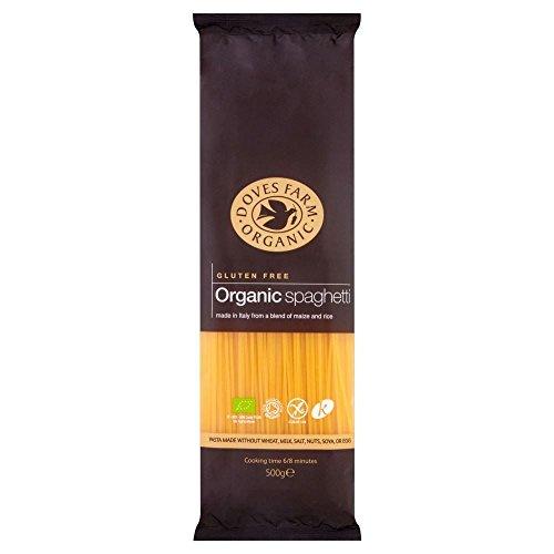 Doves Farm Mais E Riso Di Spaghetti Libere Organico Glutine (500g) (Confezione da 6)