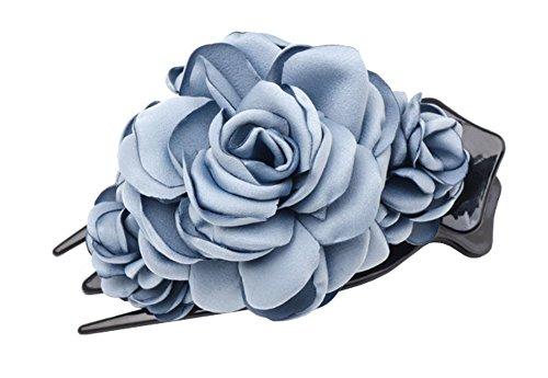 Design de fleurs Accessoire Barrette à cheveux exquis et élégant