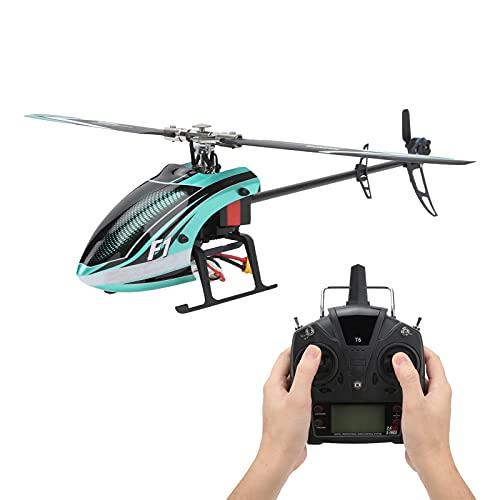 Bnineteenteam Helicóptero De RC, Helicóptero del Truco De 3D / 6G F1 Helicóptero Multifuncional Modelo De 6 Canales RC