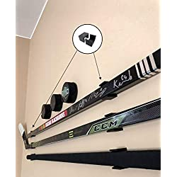Sin Bin Shop Hockey Stick Display Holder/Hanger Wall Mounts