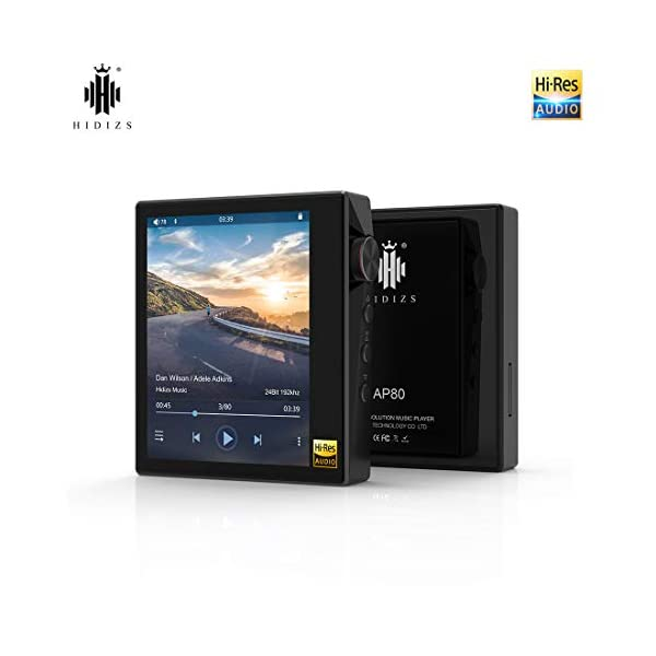 Ultraportable HiFi Music Player Bluetooth MP3 Player High Resolution Audio Player 3