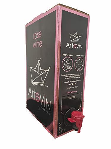 Bag in Box ARTEVIN vino ROSADO 3 L