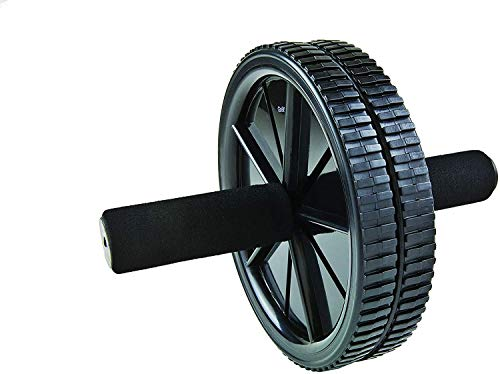 GoFit Dual Exercise Ab Wheel- Roller with Handles