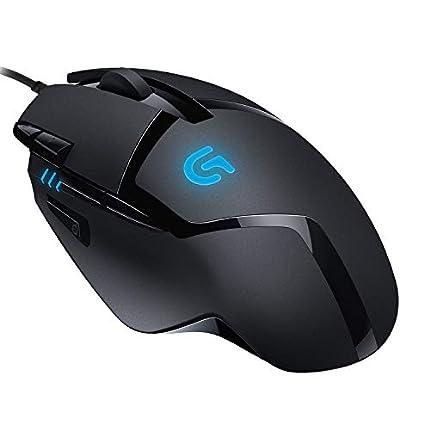 Logitech G402 Hyperion Fury Ratón Gaming con Cable, Seguimento Óptico 4,000 DPI, Peso Reducido, 8 Botones Programables, PC/Mac - Negro
