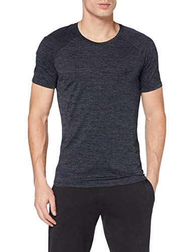 BOSS T-Shirt RN Athletic Camiseta, Azul Oscuro403, L para Hombre