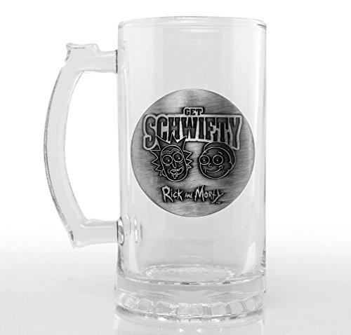 Vaso/Jarra de Cerveza Rick & Morty - Get Schwifty