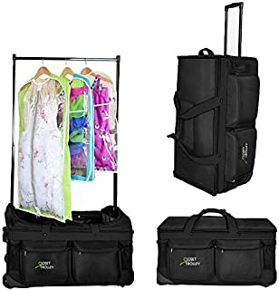 dance duffel with garment rack