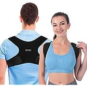 Haltungskorrektor Geradehalter Rückenstütze Rückentrainer Schultergurt Haltungstrainer Posture Corrector für Nacken Rücken Schulterschmerzen für Herren und Damen