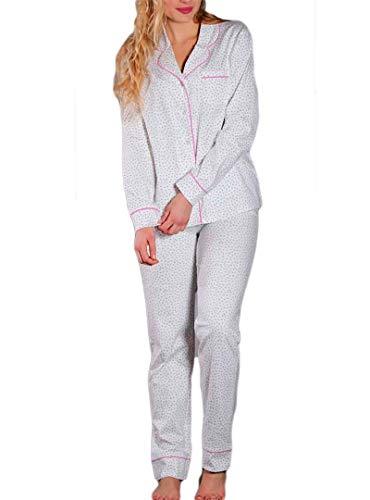 MARIE CLAIRE 6686-97117-LAPIZ-40 - Pijama Mujer Abierto Mujer Color: Lapiz Talla: 40