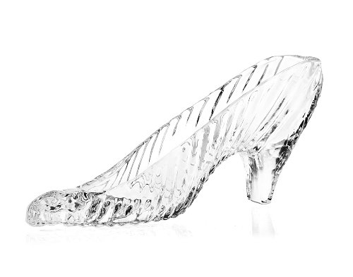 Godinger Crystal Slipper Glass Slipper - 6.75'