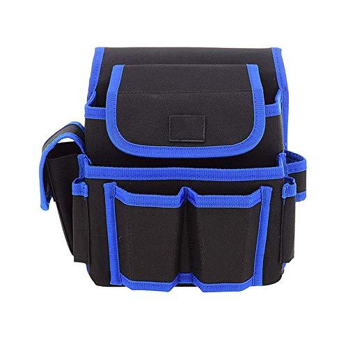 Qilo Bolsa Herramientas Bolsa de boca ancha herramienta, de gran capacidad de los hombres de Toolkit, impermeable herramienta de trabajo pesado bolsa de almacenamiento con correa for el hombro ajustab