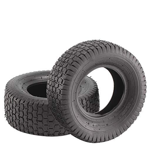 BALLSHOP 2 Stück Rasen Rasenmäher Reifen 13x5.00-6 Reifen für Rasentraktor Aufsitzmäher 2400g Rasenmäherreifen