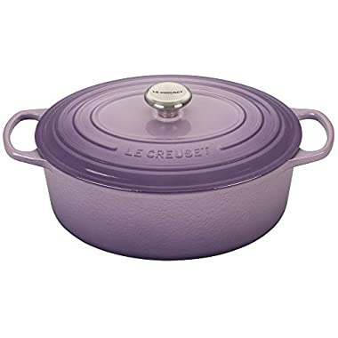 Le Creuset Signature Provence Enameled Cast Iron 6.75 Quart Oval Dutch Oven