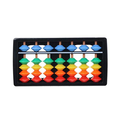Xuniu Juguete Educativo para bebés, Colorido ábaco aritmética Soroban Matemáticas Herramientas de...