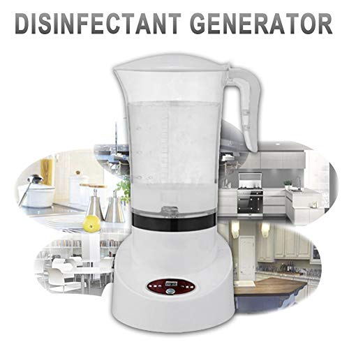Generador De Hipoclorito De Sodio para El Hogar Multiusos Desinfección Máquina para Hacer Líquidos para La Oficina En El Hogar Ropa De Frutas Y Verduras