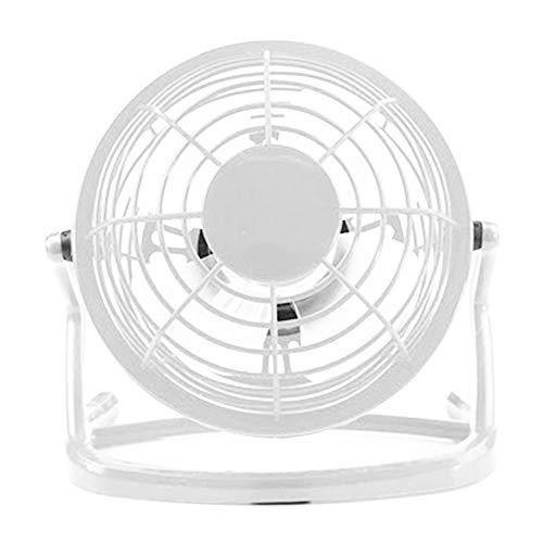 Anyutai Ventilador de escritorio, 4 Inche Ruiseless Ventilador de escritorio con USB -Alimentado, viento fuerte, para el hogar oficina dormitorio