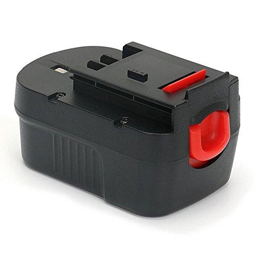 PowerGiant 14.4V 2.0Ah HPB14 Battery for Black & Decker HPB14 FSB14 FS140BX Power Pack Firestorm 14.4 Volt Battery 499936-34 499936-35 A1714