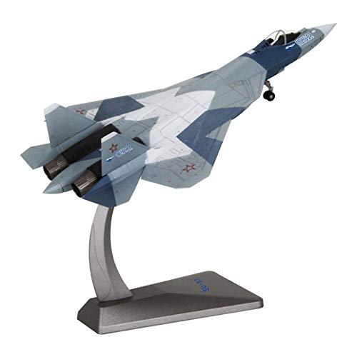 Gn shop Maqueta Avión, Ruso 1/72 Caza Pesado Su-57 Militar De Aviación Aviones Modelo De La Decoración