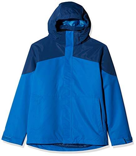 McKINLEY Kinder Aman Doppeljacke Jacke, Blue Dark/Navy, 128