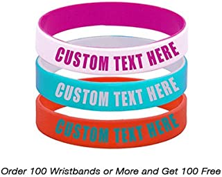 personalized athletic wristbands