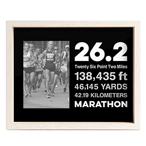 Gone For a Run Premier Running Photo Frame | 26.2 Math Miles