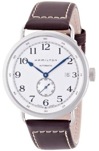 Hamilton H78465553 - Orologio da polso, cinturino in pelle colore marrone