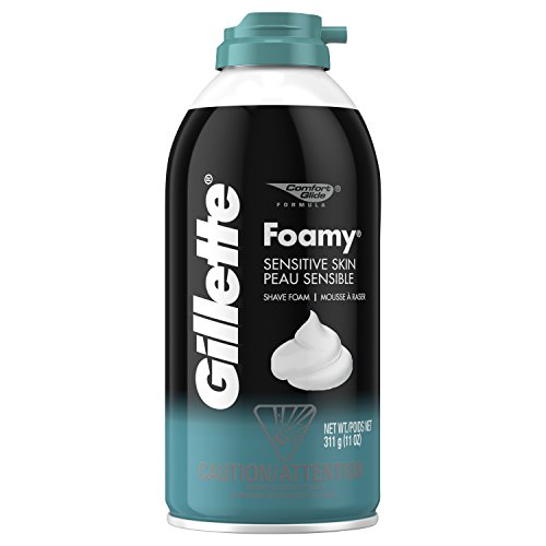 Gillette Foamy Shaving Cream, Sensitive Skin