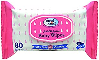 Cool&Cool Baby Wipes 80's (Regular), 5060068550072