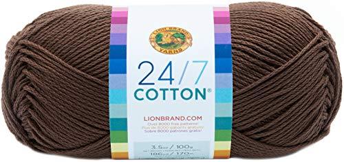 Lion Marke Garn Company Baumwolle Garn, 100% Baumwolle, Kaffee mit Milch
