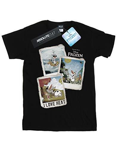 Absolute Cult Frozen Ragazzi Olaf Polaroid - Sun On The Brain T-Shirt Multi confezione da 2 Multi 12-13 Anni