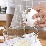 tree2018 séparateur d'œuf en céramique blanc d'oeuf et jaune d'œuf, ustensile de cuisine, petit