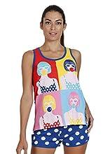 SANTORO Pijama de Tirantes Pop para Mujer