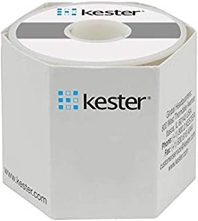 Kester 44 Activated Rosin Flux Core Lead-Free Solder Wire - +212 F Melting Point - 0.031 in Wire Diameter - Sn/Sb Compound - 24-0001-0027 [PRICE is per POUND]