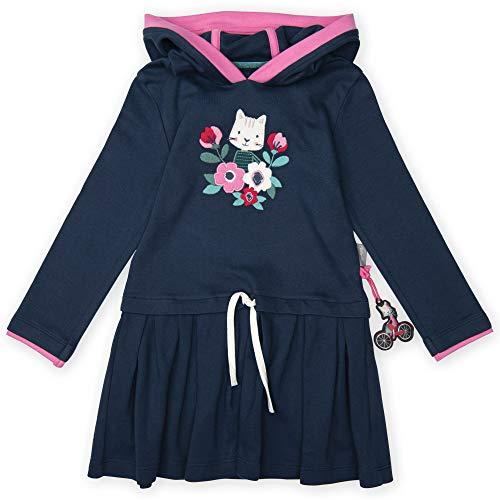 Sigikid Mädchen Kapuze Kleid, (Blau 279), (Herstellergröße: 104)