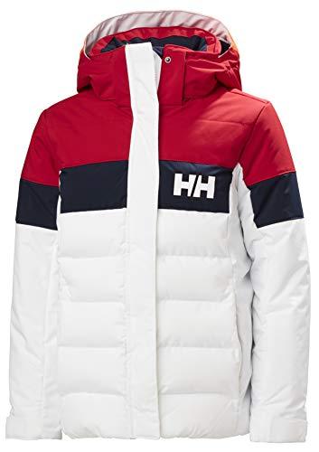 Helly Hansen Mädchen Diamond Jacke, White, 10