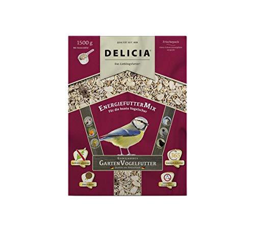 Delicia EnergiefutterMix Wildvogelfutter Winterfutter, 1,5 kg