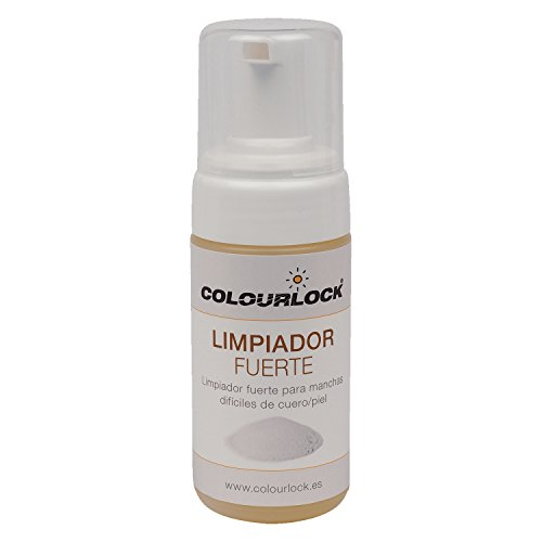 COLOURLOCK Limpiador Fuerte para Cuero/Piel, 125 ml Limpia con Intensidad Cuero de sofás, Coches, Ropa, Bolsos