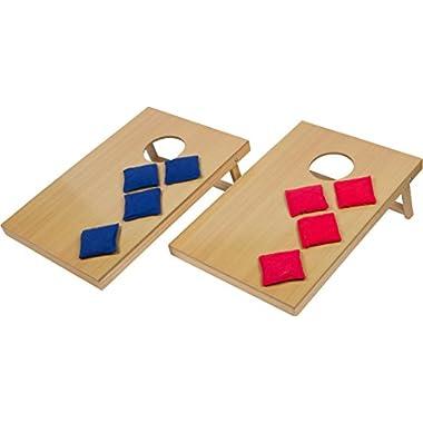 16″ Mini Tabletop Bean Bag Toss Game For...
