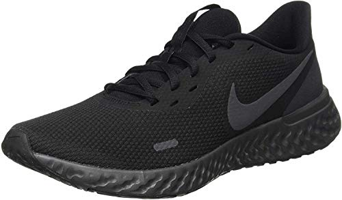 Nike Revolution 5, Zapatillas de Atletismo para Hombre, Multicolor (Black/Anthracite 001), 41 EU