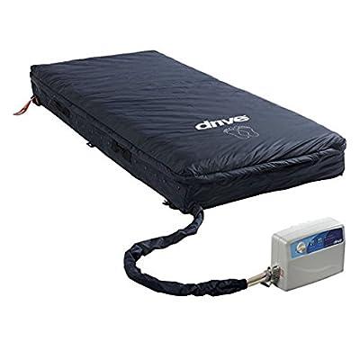 Drive Medical Med-Aire Assure Foam Base Mattress System, Blue