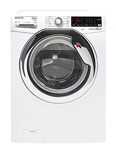 Hoover WDXOA 6106AH-01 - Lavadora de 10/6 kg, 1600 rpm, NFC, color blanco