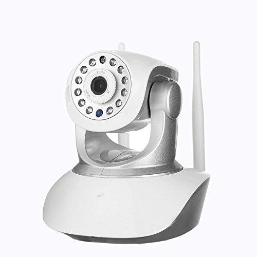 Cámara de vigilancia Wlan IP 1080P Pathonor HD WiFi con 350°/100°