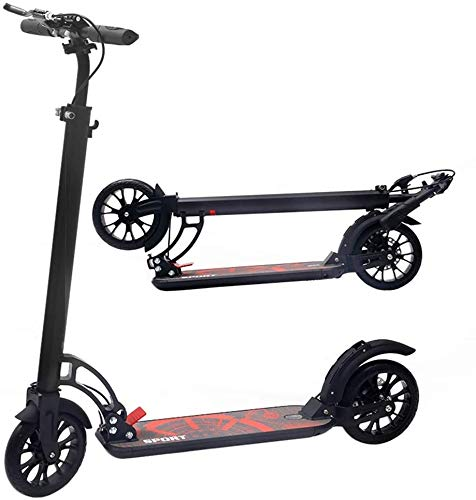 Patín Eléctrico Niños/Adultos Scooter con 3 Segundos Sistema de fácil Plegable Plegables...