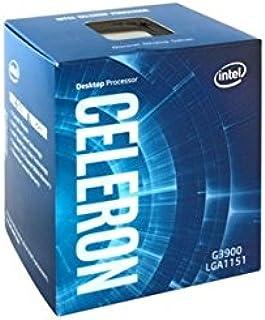 Intel Intel Celeron G3900 - Microprocesador, 2.8 GHz, Color Plata