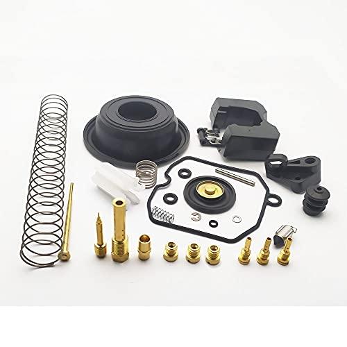 Kit de reconstrucción de la reparación de carburador Kit de combustible de aire Ajuste del ajuste del ajuste Conjuntos con agujas de válvulas PILOT PILOT PILOT PILOBAL HETS LENTO REEMPLAZO PARA HARLEY