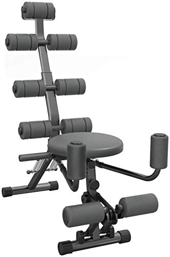 Buikmachine Multifunctionele fitnessapparatuur Meerdere sportmodi Draaibare stoel Verstelbare luie rugligging Geschikt voor thuisgebruik in de sportschool(Upgrade)
