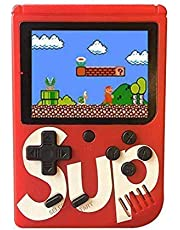 Amisha Gift gallery® SUP Handheld Game Console,Classic Retro Video Gaming Player Colorful LCD Screen USB Rechargeable Portable Game Console with 400 in 1 Classic Best Birthday Gift for Kids Boys Girls