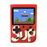 400 retro classic games - The game console built-in 400 classic games such as Red fortress, contra, Tank Wars, tetris, etc. Taking you back to your happy childhood 3.0 Inches TFT Color Screen: High definition display, precise images transmission with...